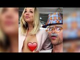 Kaley Cuoco Bares Her Breast On Snapchat!