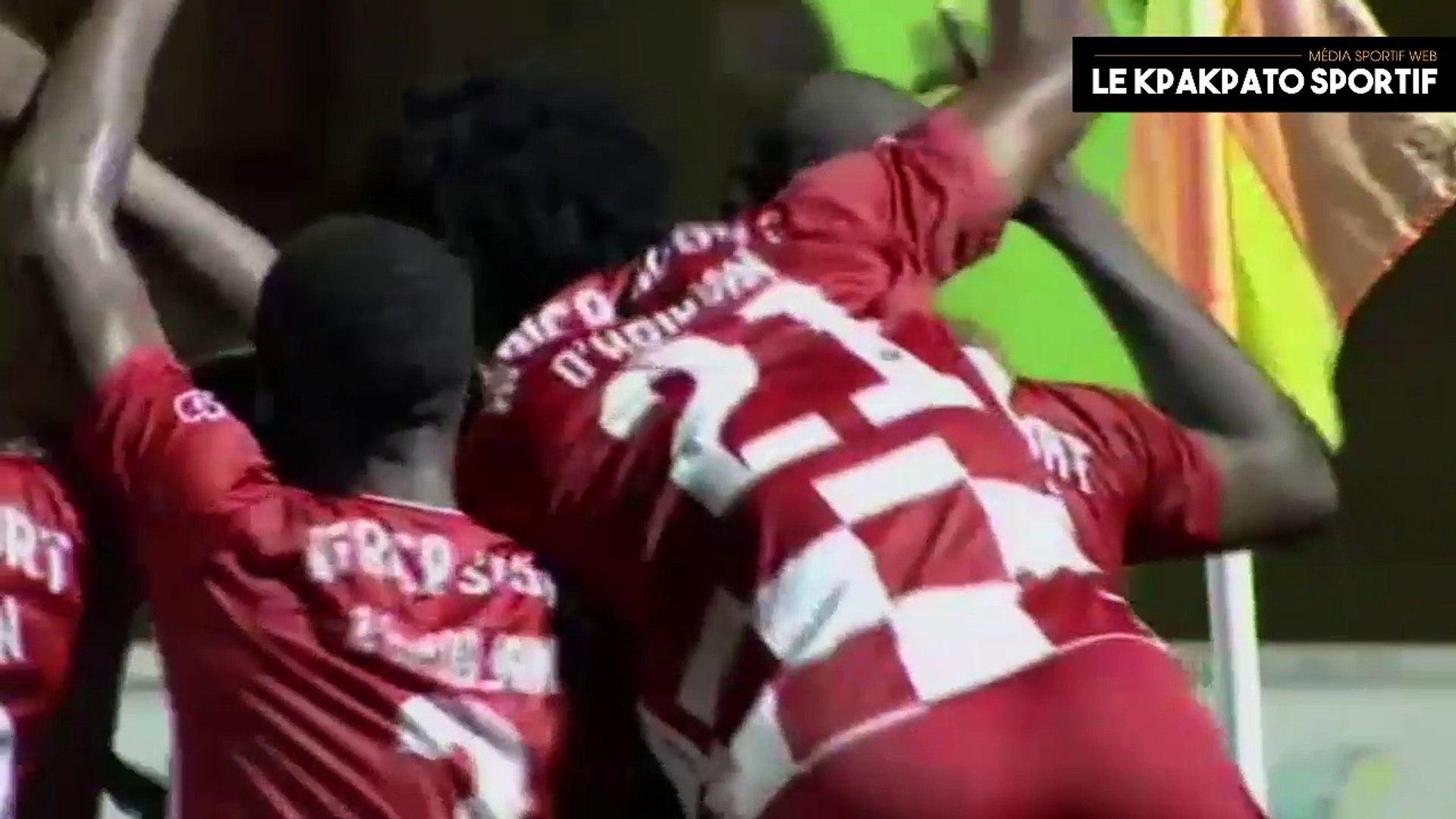 TOP 5 - Les plus beaux buts - 1ère et 2e Journée LIGUE1 Côte d'Ivoire