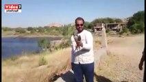 """بالفيديو..محميات أسوان تطلق سراح """"صقر شاهين"""" عقب ضبطه مع صياد"""
