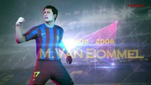 Juan R. Riquelme se suma a las leyendas del Barça en el PES 2017
