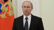 Vladimir Putin says Russia wants to normalise relations with US