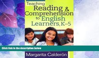 Best Price Teaching Reading   Comprehension to English Learners, K-5   [TEACHING READING