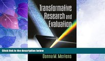Price Transformative Research and Evaluation Donna M. Mertens PhD On Audio