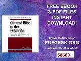Gut und Böse in der Evolution. Naturwissenschaftler, Philosophen und Theologen im Disput