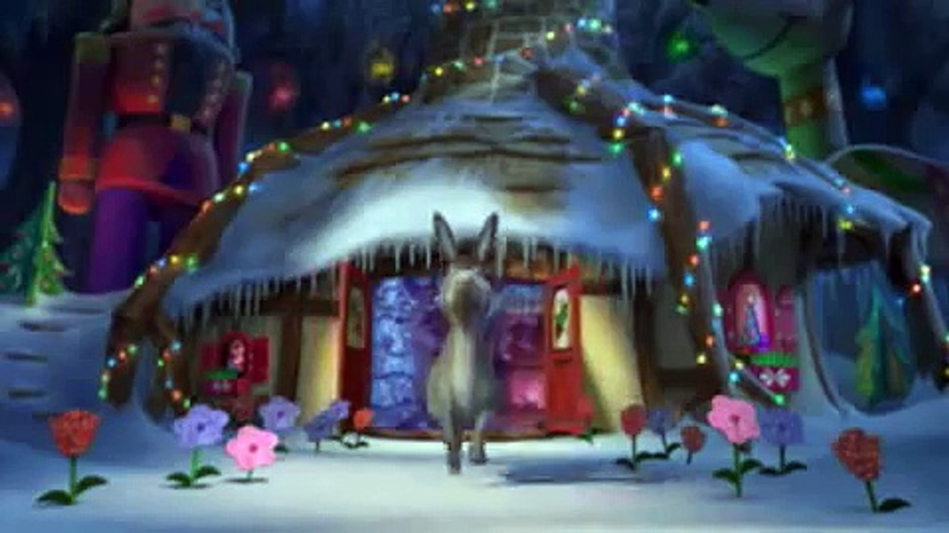 Shrek Christmas.Shrek The Halls