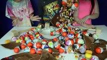 Géant chocolat Kinder Surprise oeufs - Kinder Surprise Eggs - Peppa Pig