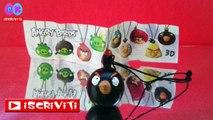 Uova sorpresa Angry Birds | Ovetti di Angry Birds in Italiano, video di uova kinder sorpresa.