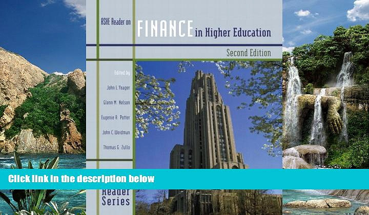 Online Association for the Study of Higher Education Finance in Higher Education (2nd Edition)