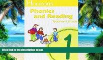 Pre Order Horizons Phonics and Reading 1st Grade Homeschool Curriculum Kit (Complete Set) (Alpha