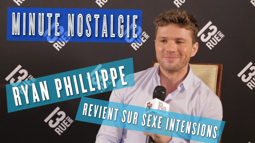Minute nostalgie : Ryan Phillippe parle Sexe Intentions
