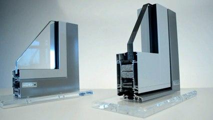 SOCOMAL - Lambda WS/DS 090, le système de portes et fenêtres en aluminium
