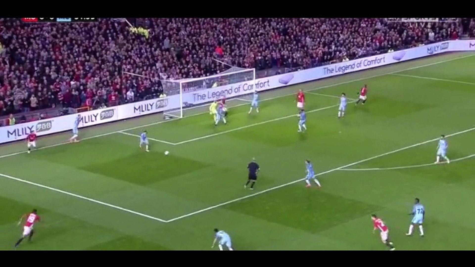 Best Goals Derby Manchester United 1 vs 0 Manchester City