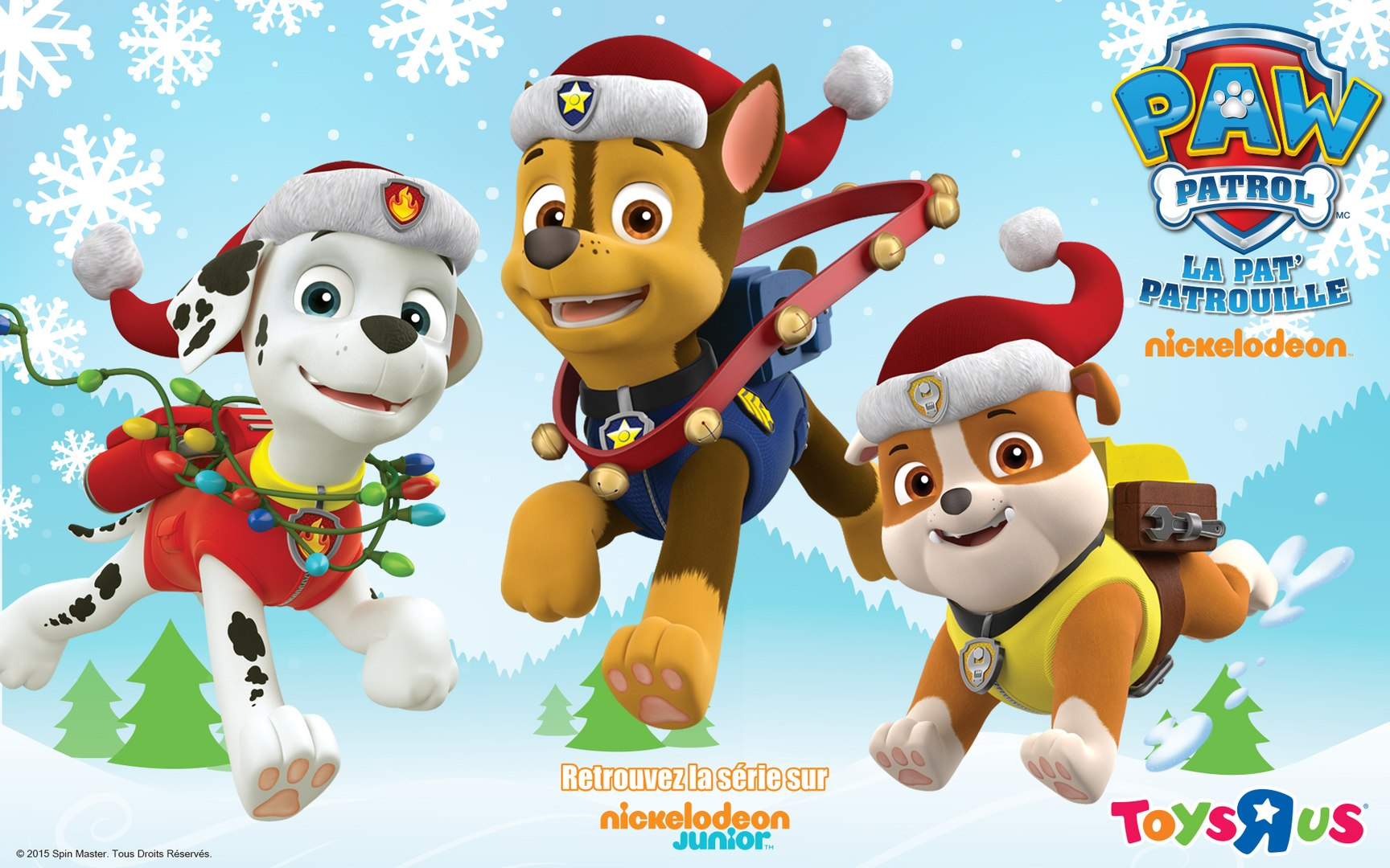 La Pat Patrouille Joyeux Noël Les Amis Merry Christmas And Happy New Year 2017