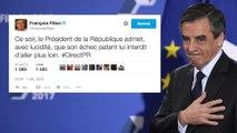 """Renoncement de François Hollande: """"décision courageuse"""" ou """"aveu d'échec""""?"""