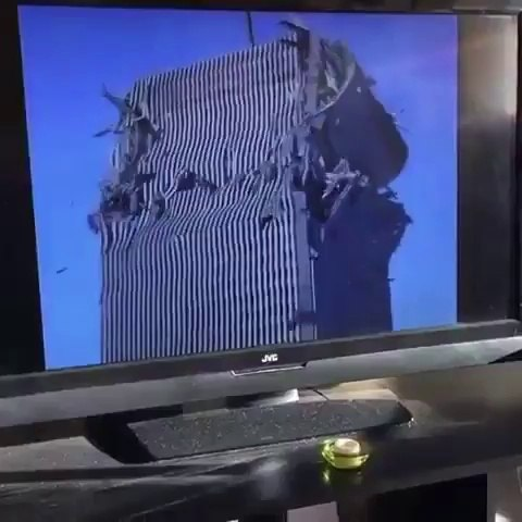 George Bush got some explaining to do... Twin Tower collapse - viral on Twitter