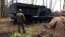 Немецкая система залпового огня «МАРС»  в Литве