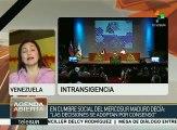 Venezuela pide defender la institucionalidad del Mercosur