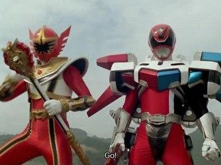 RMP Red VS Samurai Red Ranger