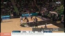 Basketball Champions League : Asvel Vs Usak (83-69)