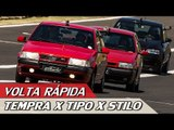 FIAT TEMPRA TURBO X TIPO SEDICIVALVOLE X STILO ABARTH - VR C/ RUBENS BARRICHELLO #85 | ACELERADOS