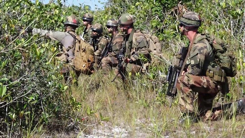 Campagne de tirs au Suriname 2016 3e REI