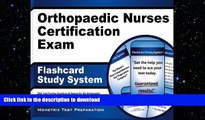 READ THE NEW BOOK Orthopaedic Nurses Certification Exam Flashcard Study System: ONC Test Practice