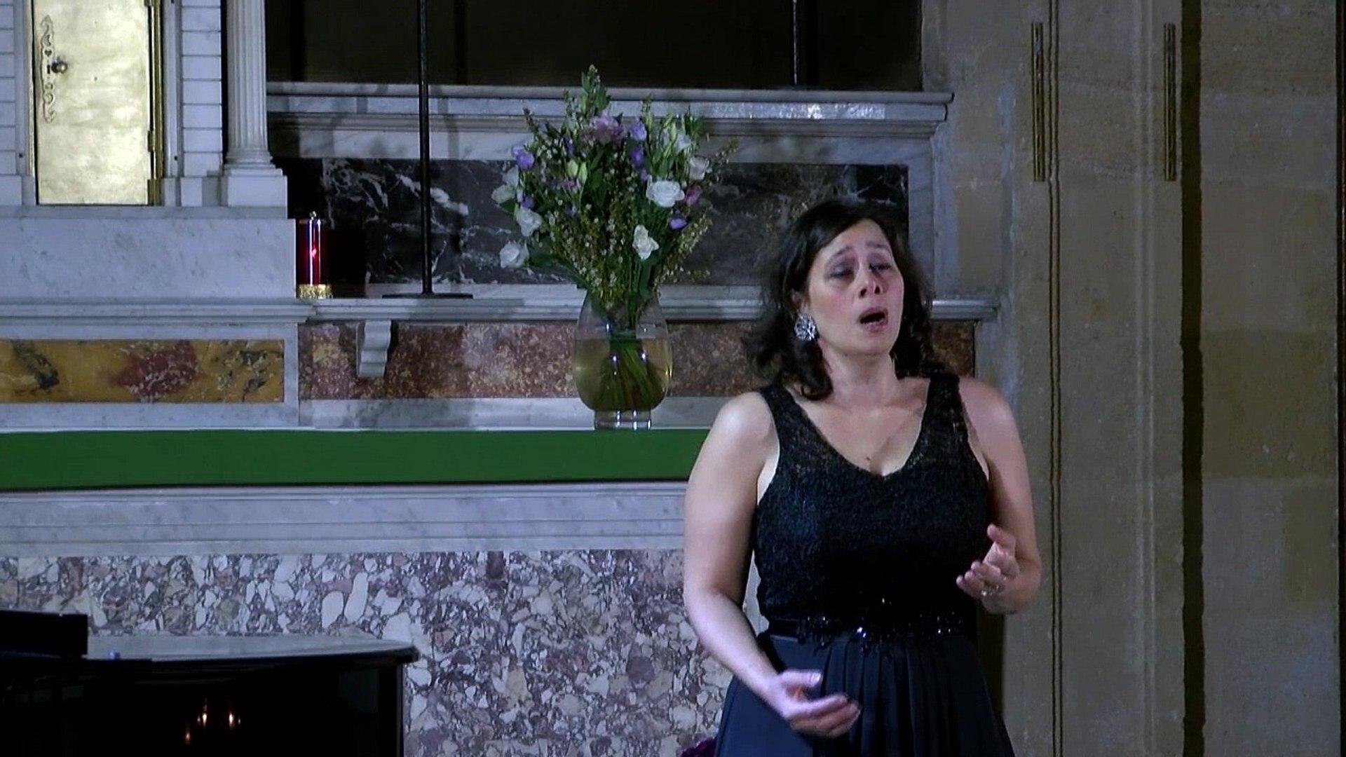 Verdi La force du destin Pace Pace Soprano Jennifer OUTRE-PINI  Les Oblats 06/11/2016