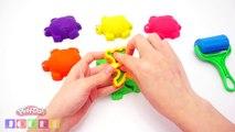 Pâte à modeler Play Doh avec moules Animaux arc fun, Créatif pour largile pour les enfants à jouer