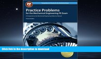READ THE NEW BOOK Practice Problems for the Mechanical Engineering PE Exam, 13th Ed (Comprehensive