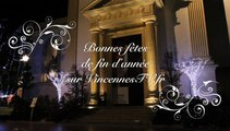 Vincennes sous les lumières de Noël, bonnes fêtes de fin d'année sur VincennesTV.Fr.