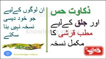 Jaryan Kaya Hai - A Complete Video in Urdu - Jiryan Medicine in