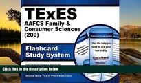 Buy TExES Exam Secrets Test Prep Team TExES AAFCS Family   Consumer Sciences (200) Flashcard Study