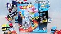 Politik für Kinder. LKW-Auto-Spiele, Kinder-lernen Sie die Art zu montieren Spielzeug Autos