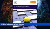 FREE PDF Due Diligence Handbook: Corporate Governance, Risk