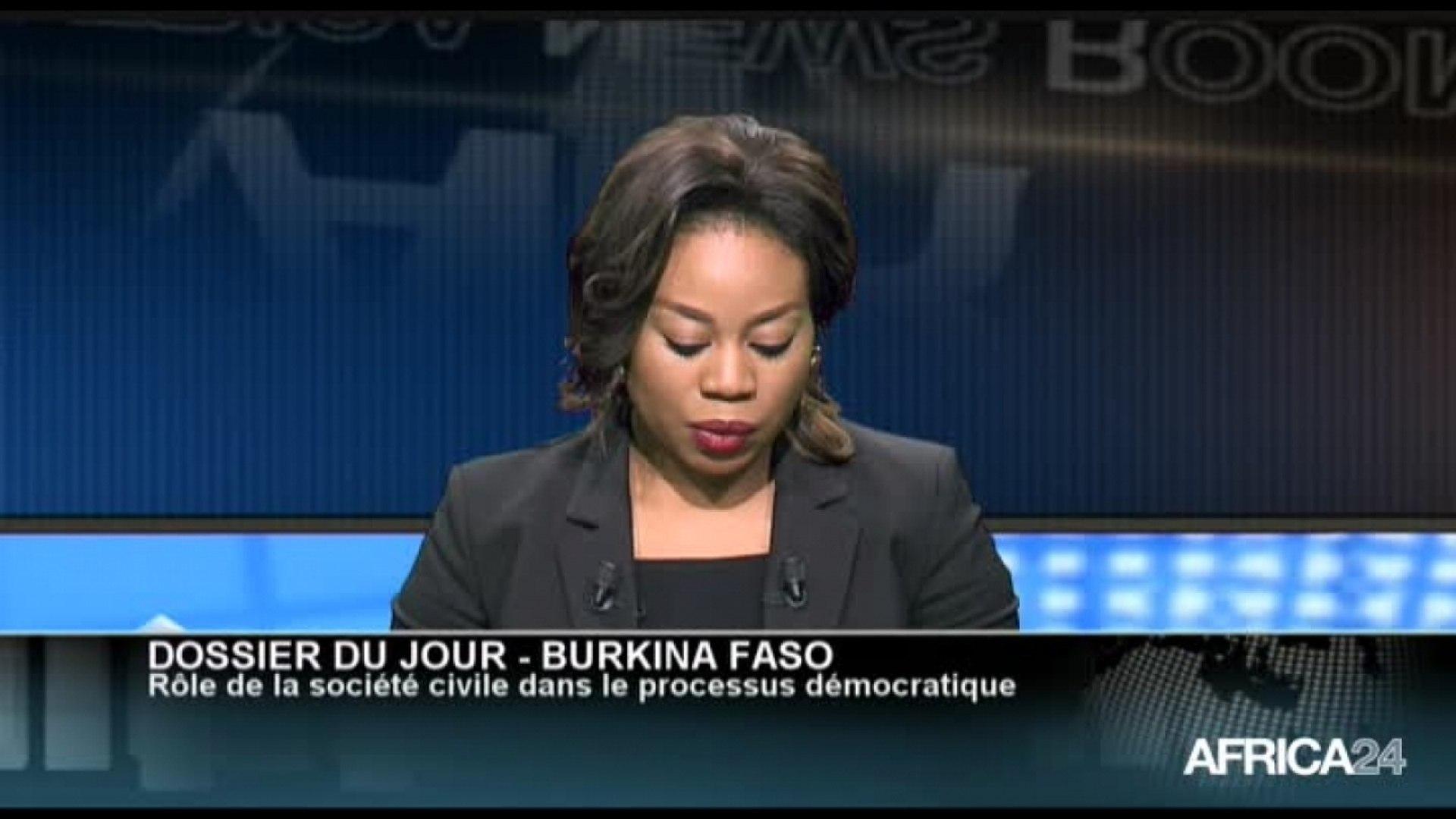 AFRICA NEWS ROOM - Burkina Faso: Rôle de la société civile dans le processus démocratique (1/3)