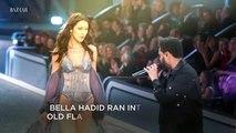 Bella Hadid & The Weeknd Reunited on the Victoria's Secret Runway