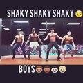 sexy guys dancing - coreografia shaky shaky daddy yankee - official video