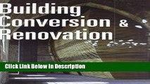 Download Building Conversion   Renovation (Architectural Design) Epub Full Book