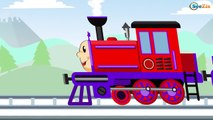 TRAINS for Children - Choo Choo Train - Colors & Shapes - Kids Trains Cartoons