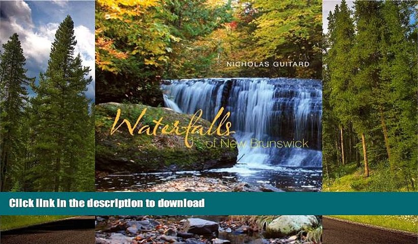 FAVORITE BOOK  Waterfalls of New Brunswick  BOOK ONLINE