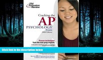 FAVORIT BOOK Cracking the AP Psychology Exam, 2008 Edition (College Test Preparation) Princeton
