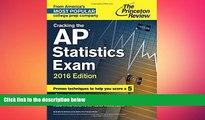 FAVORIT BOOK Cracking the AP Statistics Exam, 2016 Edition (College Test Preparation) Princeton