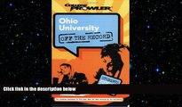 FAVORIT BOOK Ohio University: Off the Record (College Prowler) (College Prowler: Ohio University