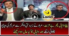 Murad Once Again Badly Insulting And Making Fun Of Daniyal Aziz