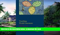 Pre Order Teaching World Literature (Options for Teaching)  Full Ebook