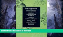 FAVORITE BOOK  Encyclopedia of Fruit Trees and Edible Flowering Plants in Egypt and the
