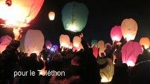 Téléthon à Tergnier : lâcher de lanternes