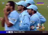 AB de Villiers cheating,Aleem Dar must be blind India v South Africa 3rd ODI at Belfast 2007