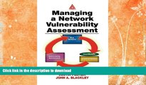 READ  Managing A Network Vulnerability Assessment FULL ONLINE