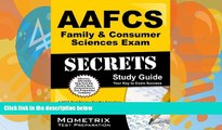 Pre Order AAFCS Family   Consumer Sciences Exam Secrets Study Guide: AAFCS Test Review for the